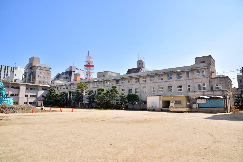 旧大名小学校跡地にはリッツ・カールトンが開業予定