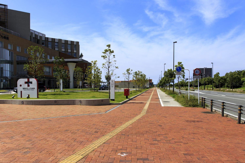 福岡アイランドシティ・福岡市立こども病院の風景